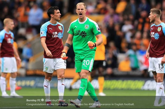 Mantan kiper Manchester City, Joe Hart