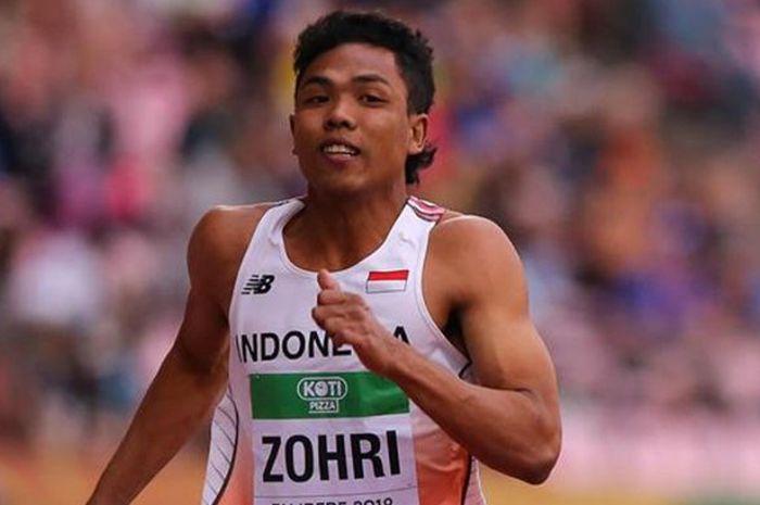 Lalu Muhammad Zohri.