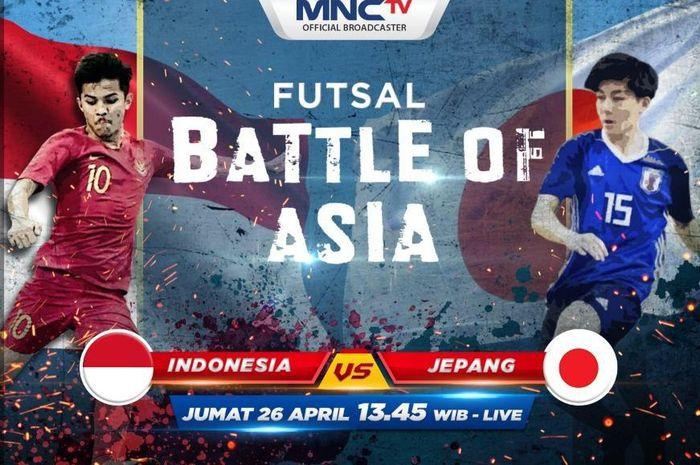 Timnas Futsal Indonesia U-20  Vs Timnas Futsal Jepang U-20