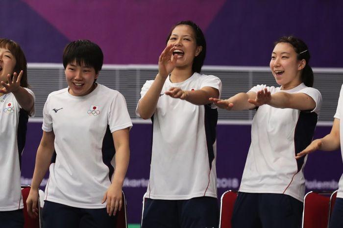 Tim bulu tangkis putri Jepang