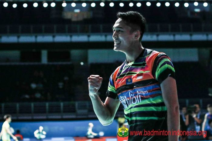 Jonatan Christie raih gelar juara New Zealand Open 2019