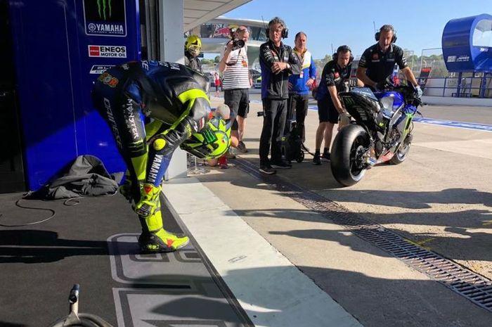 Pembalap Monster Energy Yamaha, Valentino Rossi