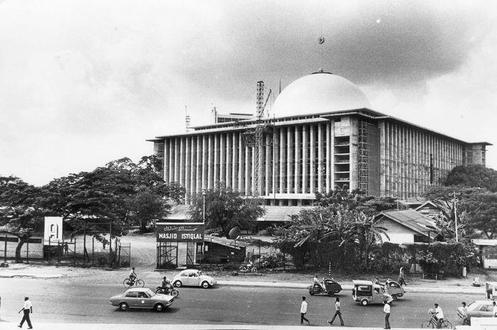 Potret masjid Istiqlal