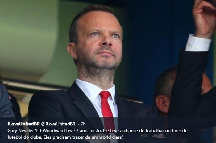 Wakil Ketua Manchester United, Ed Woodward