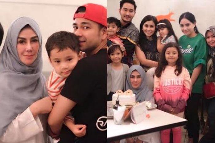 Kolase Keluarga Raffi Ahmad