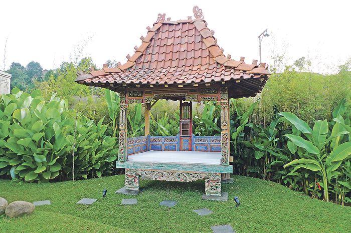 Desain Taman Dengan Barang Bekas  bisa pakai bambu hingga batu begini trik hias taman dengan