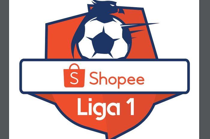 Logo Liga 1 2019 dengan sponsor baru.