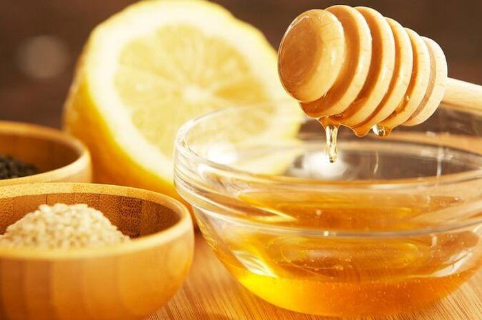 masker madu lemon