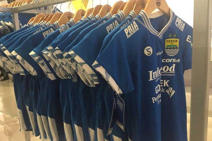 Ilustrasi desain jersey terbaru Persib Bandung musim 2019.