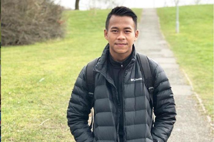 Pemain sayap Garuda Select dan timnas Indonesia, Mochamad Supriadi.