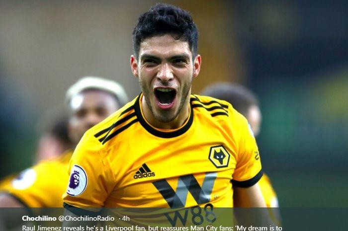 Striker Wolverhampton , Raul Jimenez