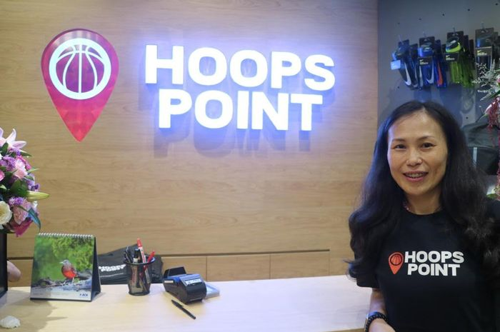 CEO Hoops Point, Joan.