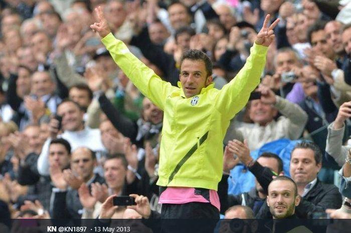 Penyerang legendaris Juventus, Alessandro Del Piero.