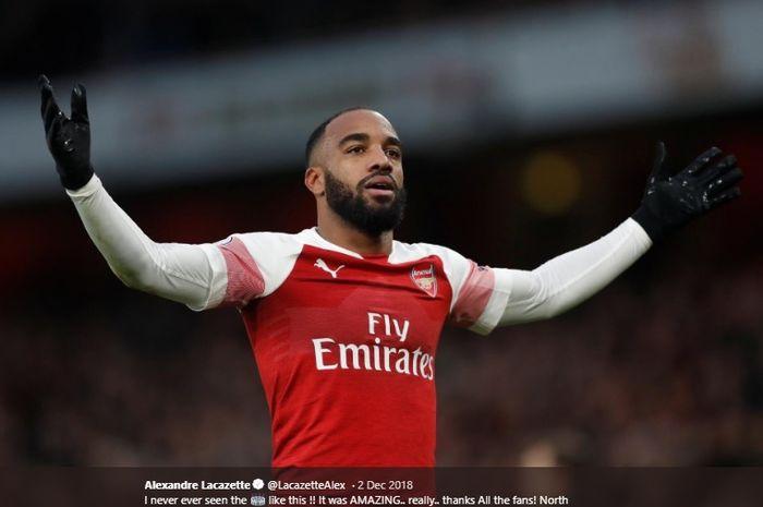 Striker Arsenal, Alexandre Lacazette