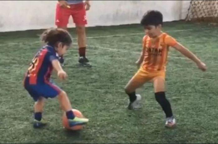 Arat Hosseini, bocah 5 tahun asal Iran yang disebut sebagai perpaduan Cristiano Ronaldo dan Lionel Messi.