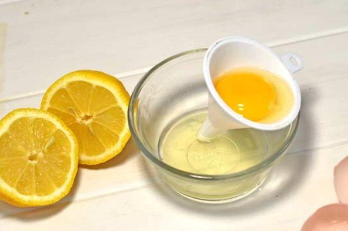 Cara Membuat Masker Lemon Dan Putih Telur Cocok Untuk Kulit Berjerawat Berminyak Semua Halaman Intisari