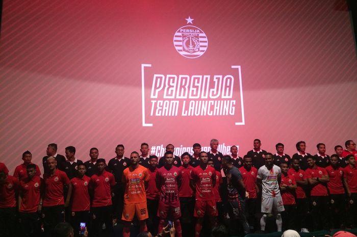 Launching Skuat Persija Jakarta untuk Liga 1 2019