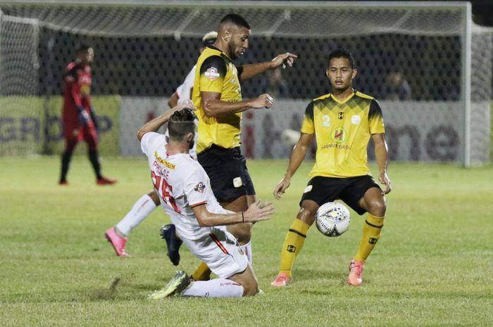 Laga Barito Putera Vs Persija di Stadion 17 Mei, Kota Banjarmasin pada Senin (20/5/2019).