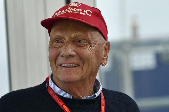 Pembalap F1 Legendaris, Niki Lauda tutup Usia, Senin (20/5/2019)