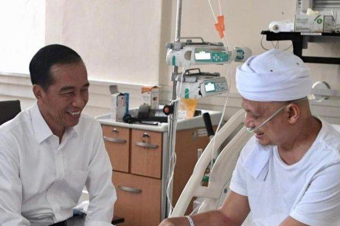 Dengan Selang Terpasang, Inilah Video Bersama Jokowi Sebelum Ustadz Arifin Ilham Meninggal