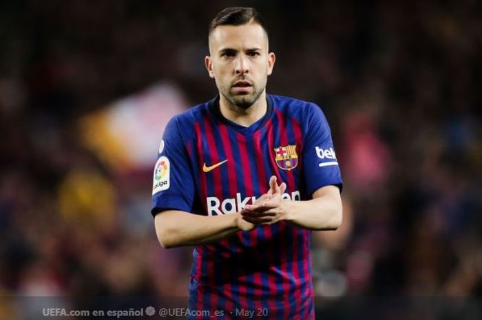 Bek kiri FC Barcelona, Jordi Alba.