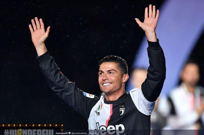 Megabintang Juventus, Cristiano Ronaldo.