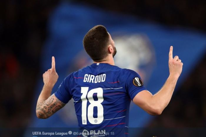 Penyerang Chelsea, Olivier Giroud.