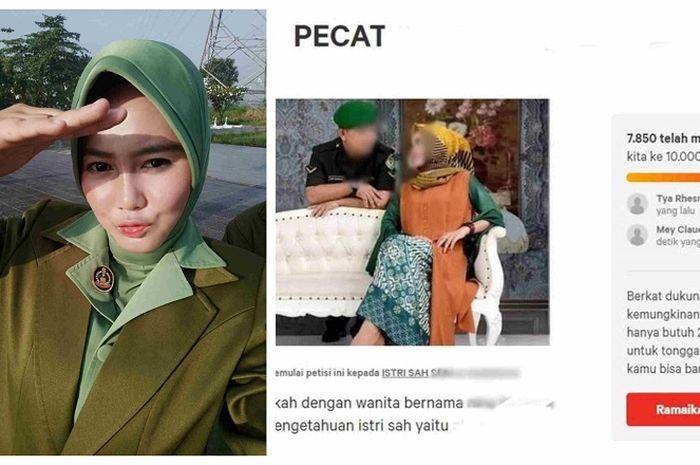 Alind Sukendar, istri TNI yang direbut pelakor adalah mantan pelakor