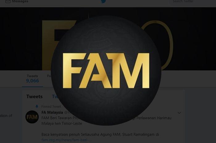 Logo FAM - Federasi Sepak Bola Malaysia
