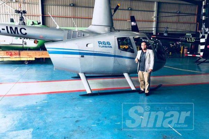 pengusaha Malaysia ini tawarkan sewa helikopter dan jet pribadi untuk mudik
