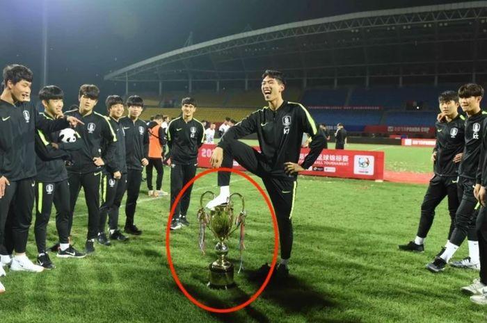 Tak Senonoh Pada Trofi Panda Cup 2019 Gelar Juara Timnas U-18 Korea Selatan Dicabut oleh China