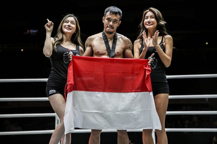Atlet ONE Championship asal Indonesia, Rudy Agustian.