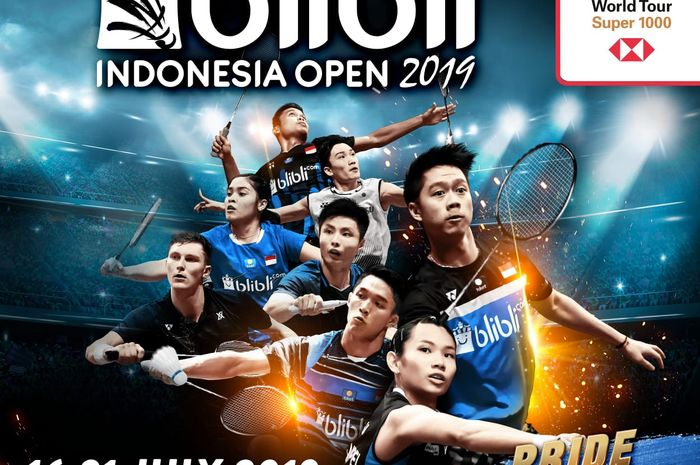 Poster Indonesia Open 2019