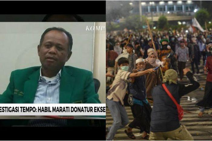 Habil Marati, terduga donatur para eksekutor kerusuhan 21 dan 22 Mei 2019 yang pernah aktif jadi manajer timnas Indonesia.