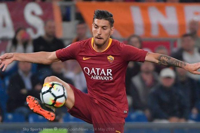 Gelandang AS Roma, Lorenzo Pellegrini, dikabarkan jadi incaran Arsenal pada bursa transfer musim panas 2019.