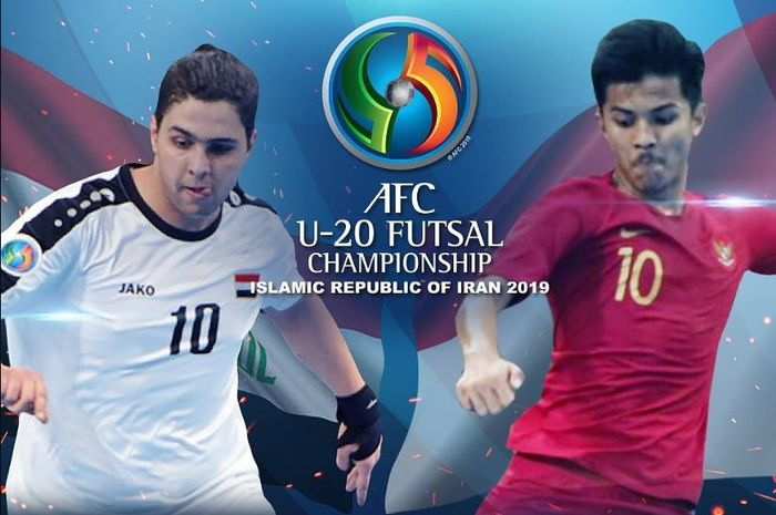 Timnas Futsal U-20 Indonesia vs Irak dalam ajang Piala Asia Futsal U-20 2019