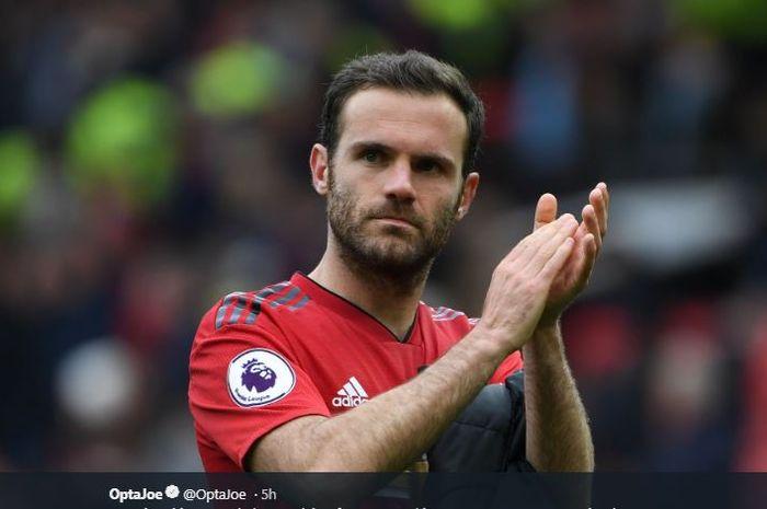 Winger Manchester United, Juan Mata.