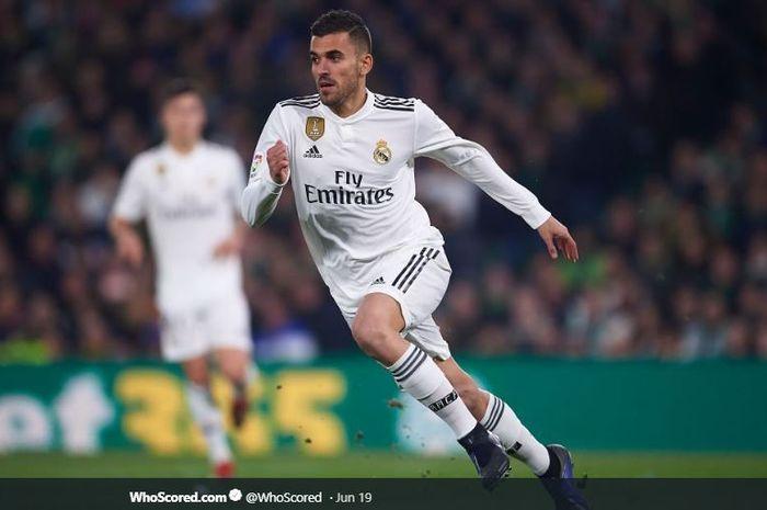 Gelandang Real Madrid, Dani Ceballos.