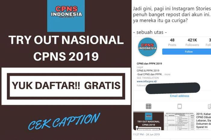 Geger Tryout Cpns Serentak Di Seluruh Indonesia Bkn Angkat