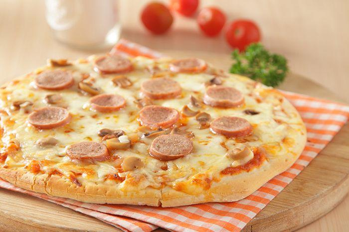 Resep Pizza Sosis Jamur Enak Ini Bisa Dibuat Cuma Dengan 5