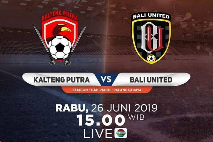 Kalteng Putra Vs Bali United