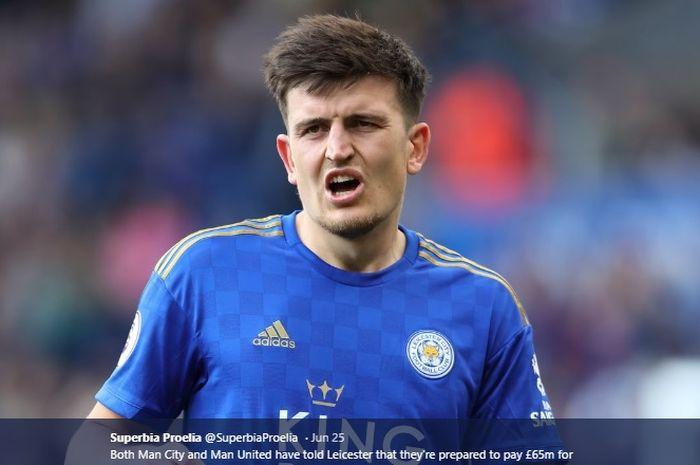 Bek tengah Leicester City, Harry Maguire
