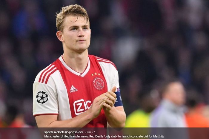 Bek muda milik Ajax Amsterdam, Matthijs de Ligt