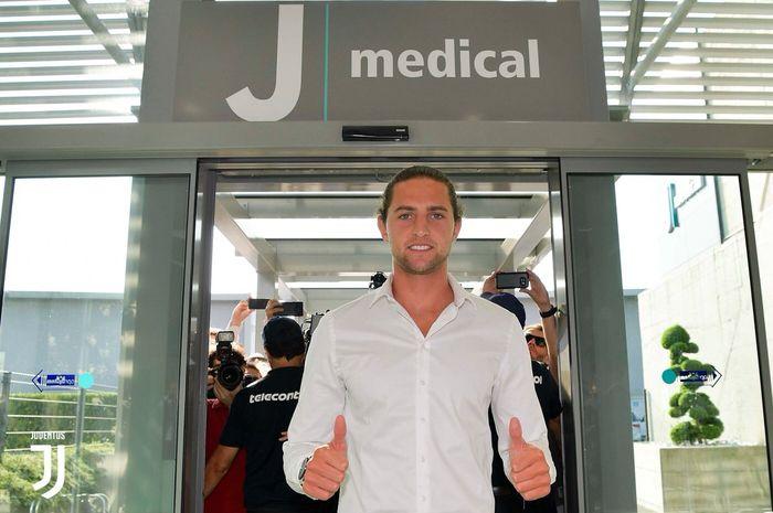 Gelandang anyar Juventus, Adrien Rabiot.