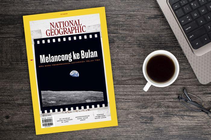 Majalah National Geographic Indonesia edisi Juli 2019.
