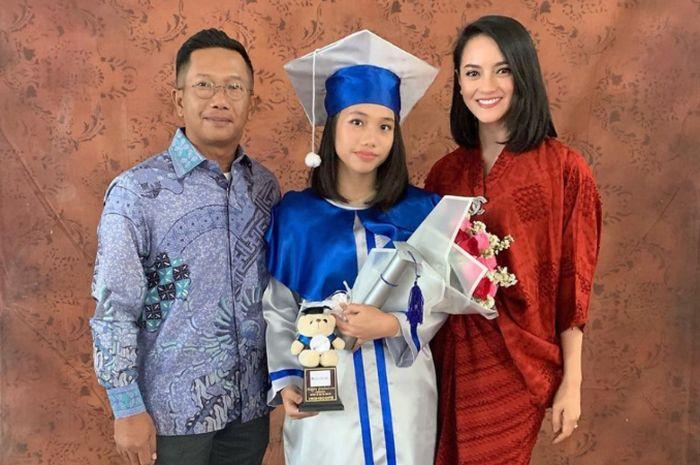 Lulus Smp Intip Kebaya Wisuda Dress Prom Night Anak Ririn Ekawati
