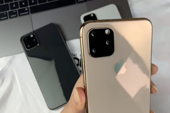 Video Hands On Iphone 11 Max Palsu Dengan 3 Kamera Belakang Makemac