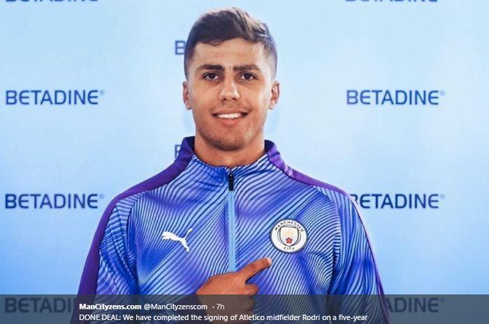 Pemain baru Manchester City, Rodrigo Hernández Cascante