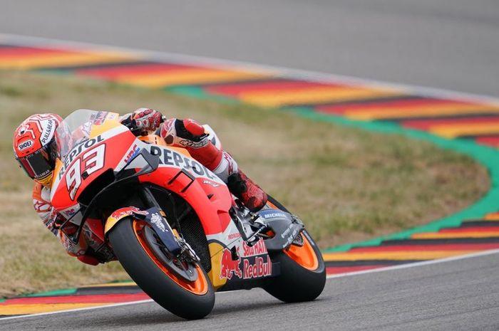 Marc Marquez di MotoGP Jerman