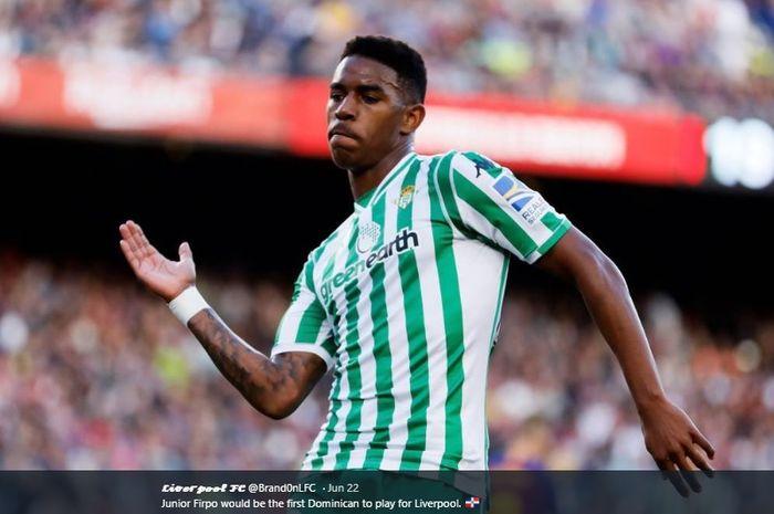 Bek kiri milik Real Betis, Junior Firpo